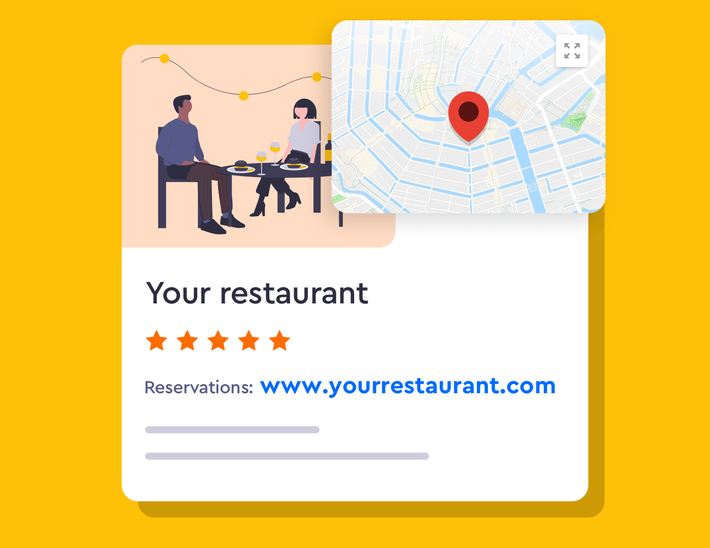 How to add your restaurants reservation link to Google